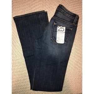 NWT Paper Denim & Cloth flare jeans sz 25